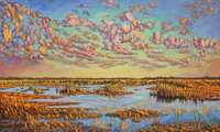 Skyward (Everglades); 36x60